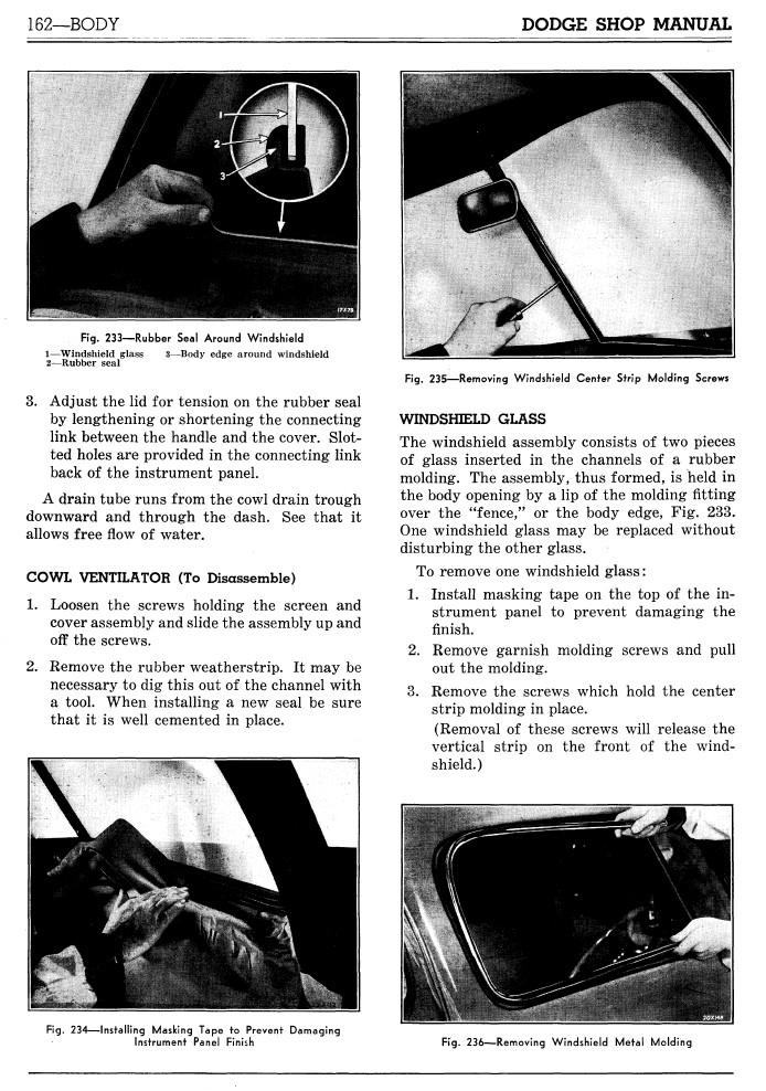 1940 Dodge D14 D17 Passenger Car Shop Manual Pdf